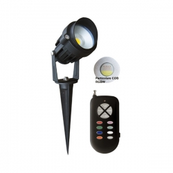 Faretto Garden 5W RGB+WW RC 60gradi IP65 220V