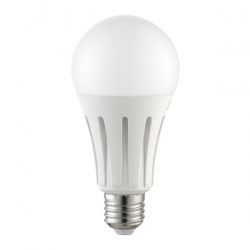 Lampadina Bulbo LED 18W Opaco Ø 80 mm E27