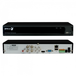 DVR AHD 4 ingressi video + 2 canali IP