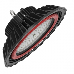 Campana LED 120W IP65 Industriale Professionale - HIGH BAY PRO - 5000°K - Diam: 383mm