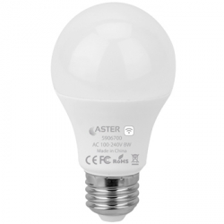 Lampada LED Smart WiFi 8W - RGB e CCT da 2800K a 6500K