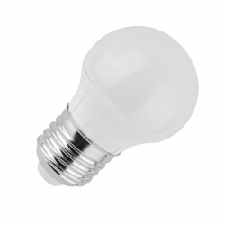Lampada LED mini Bulbo 5W E27 230V Diam 45mm - non dimmerabile