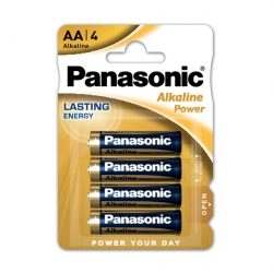 Batteria Alkalina Power Panasonic AA - LR6APB/4BP