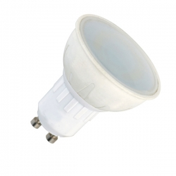 Faretto a LED MR16 6W a base GU10 230V - opaco - Ø 50 x H61mm